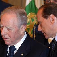 Carlo Azeglio Ciampi e Silvio Berlusconi