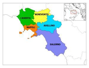 In Campania esistono due regioni