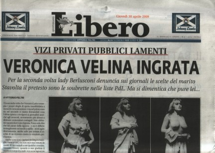 Governo Berlusconi IV: dodicesimo mese