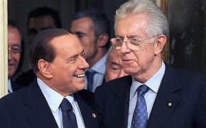 La fine non-fine di Berlusconi e il difficile cammino di Monti