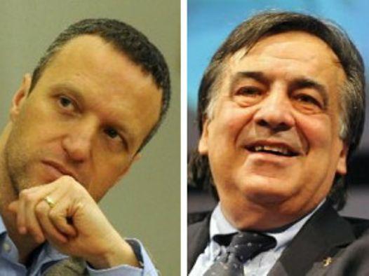 Flavio Tosi e Leoluca Orlando