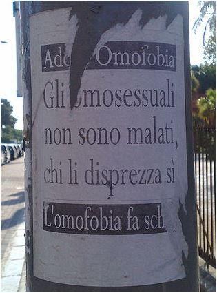 L'omosessualità non è una malattia! 17 maggio: giornata mondiale contro l'omofobia