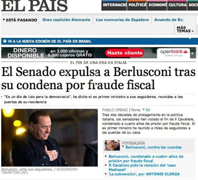 Berlusconi decaduto