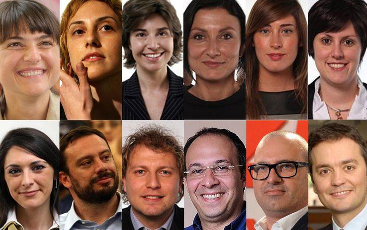 Pd, la squadra di Matteo Renzi