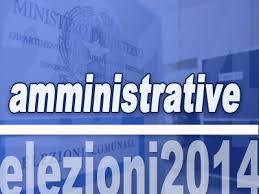 Amminitrative 2014: presentazione liste