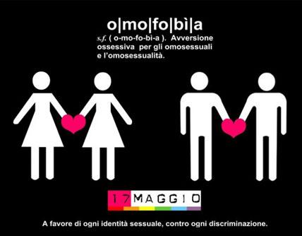 17 maggio Giornata mondiale contro l'omofobia