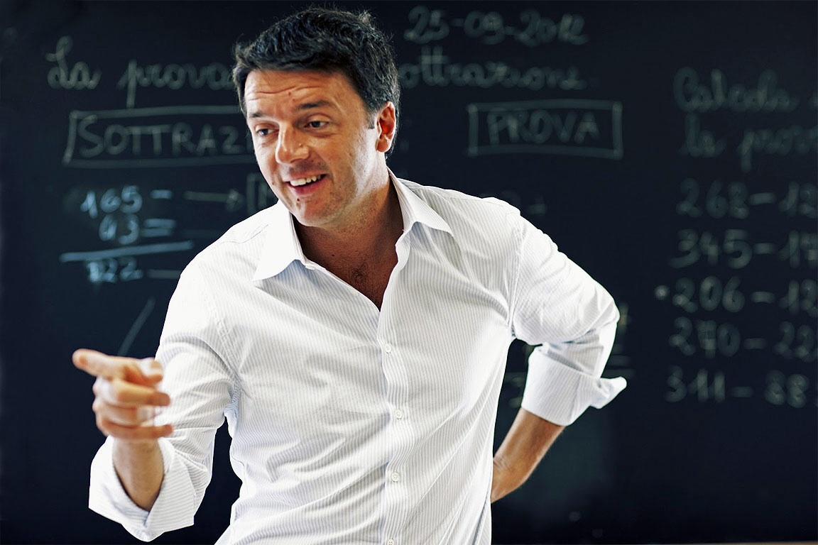 Dopo il terremoto Renzi
