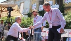 Nichi Vendola, Giuseppe Civati e Gianni Cuperlo