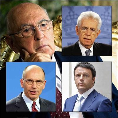 Basta con la favola dei tre governi non eletti!