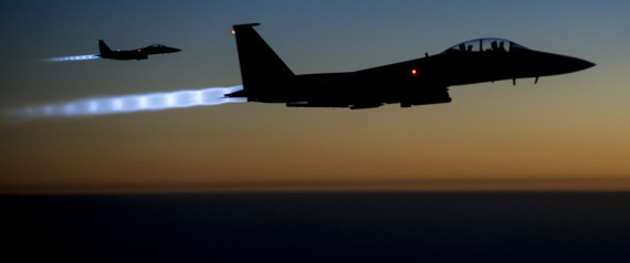 Raid occidentali contro l'Isis