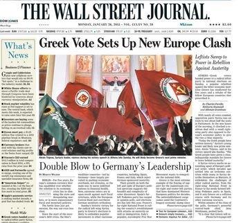 La vittoria di Tsipras vista dall'Italia