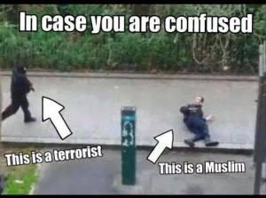 L'islamico e il terrorista