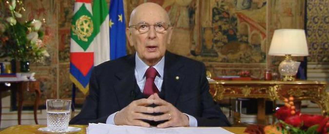 Napolitano conferma le dimissioni