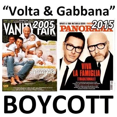 Per Dolce&Gabbana i figli delle coppie omosessuali sono sintetici