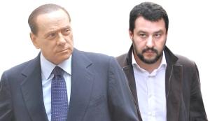 Salvini e Berlusconi costretti all'alleanza