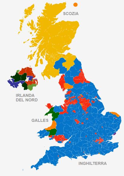 Elezioni Uk: rivince Cameron