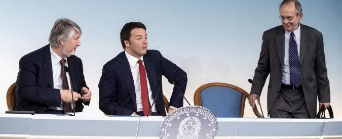 """Renzi tappa il """"buco pensioni"""""""