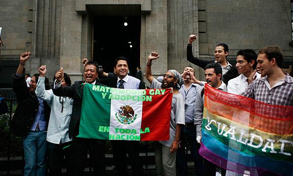 Matrimoni glbt in Messico