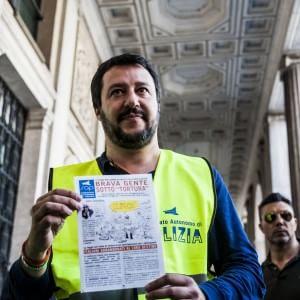 Salvini dice no al ddl tortura