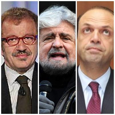 Triplo attacco a Renzi
