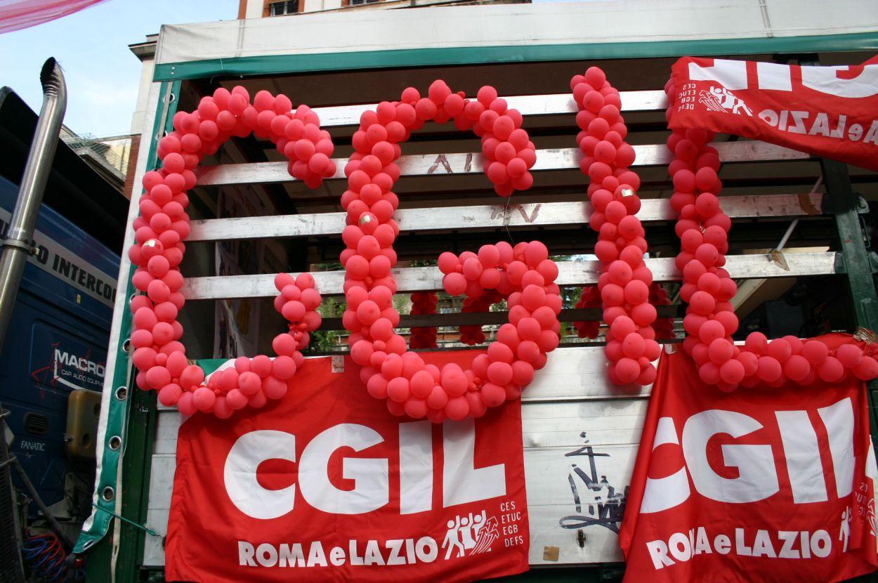 La Cgil perde iscritti
