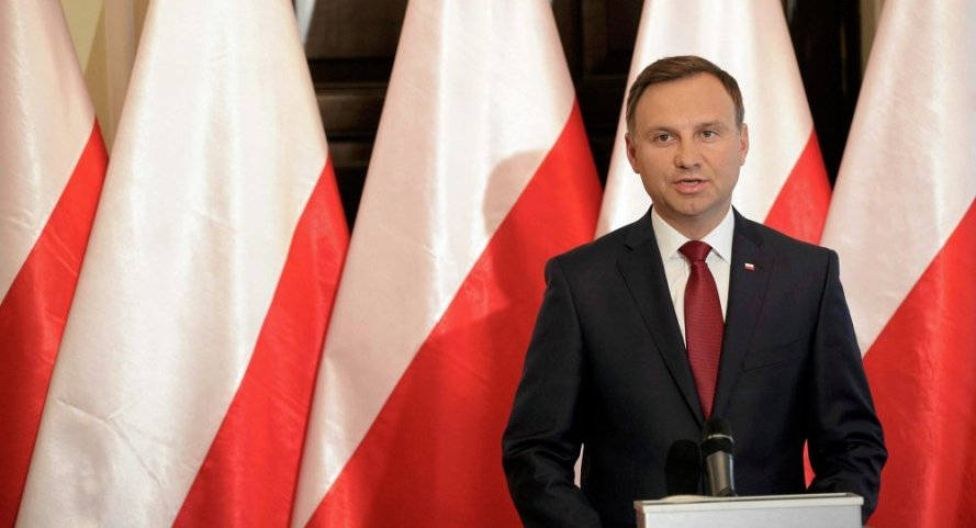 Polonia, Duda nuovo presidente