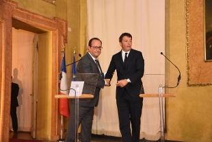 Renzi, Hollande e i muri