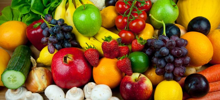 Frutta e verdura in una corretta alimentazione