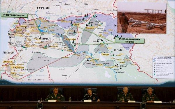 La Russia dimostra che la Turchia aquistra petrolio di contrabbando dall'Isis