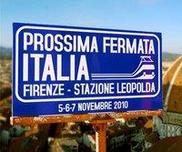 Leopolda. Prossima fermata Italia