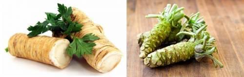 Rafano e wasabi