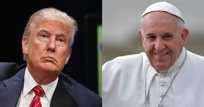 Trump-Bergoglio-Trump: botta e risposta