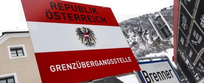 L'Austria inizia costruzione muro anti immigrati al Brennero