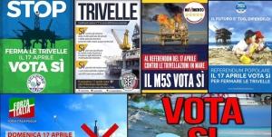 Referendum trivelle: le posizioni degli altri partiti
