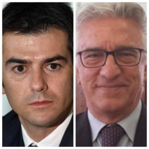 Massimo Zedda e Vincenzo Napoli