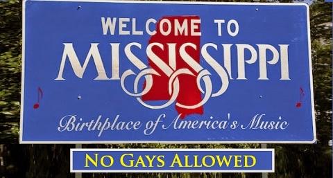 """Mississippi. Dichiarata interamente incostituzionale la legge sulla """"libertà religiosa"""" contro i gay"""