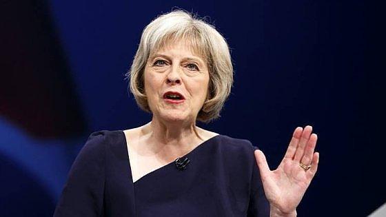 Theresa May nuovo premier del Regno Unito