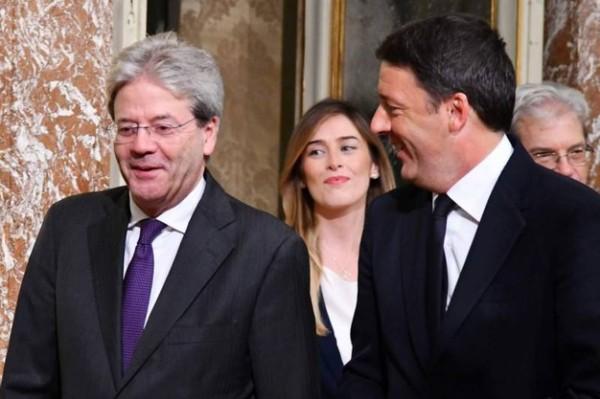 Renzi, il governo Gentiloni e il giglio magico