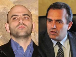 Nicola Saviano e Luigi De Magistris