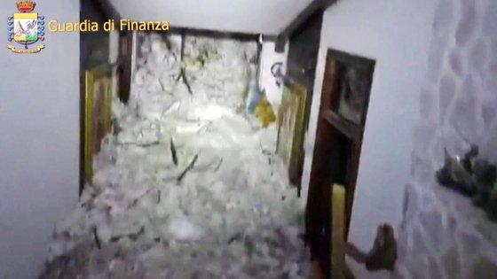 Valanga in Abruzzo