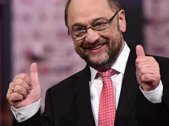 Schulz candidato Spd a elezioni