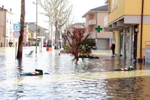 Stato di emergenza per alluvione nei comuni di Cuneo e Torino