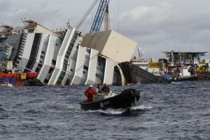 Naufraga la Costa Concordia