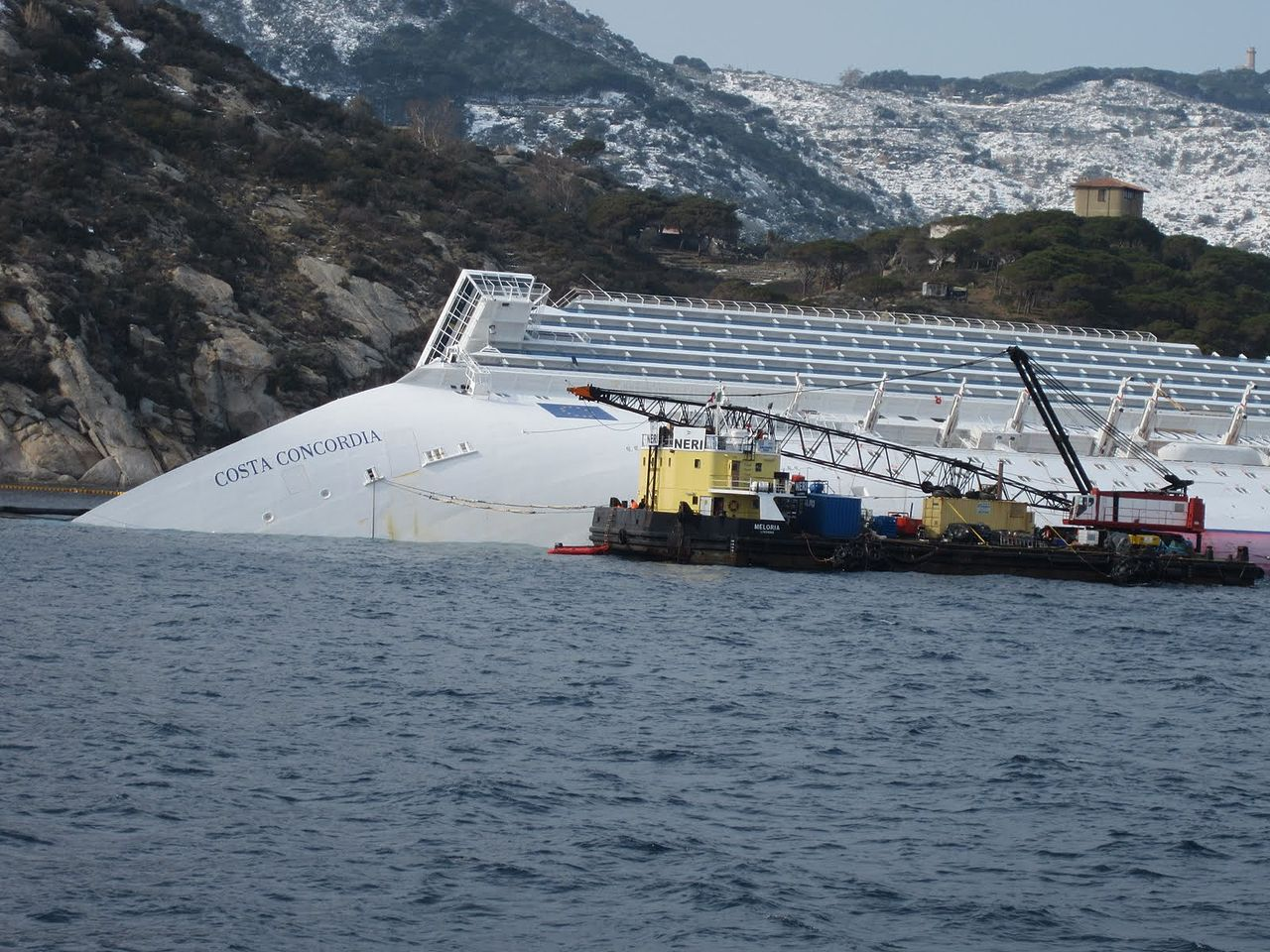 Costa Concordia: impatto ambientale