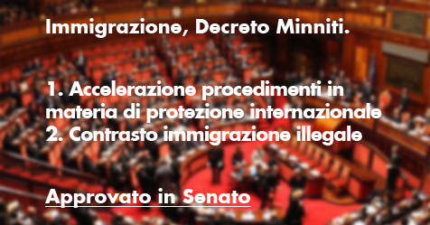 Dl migranti, sì del Senato