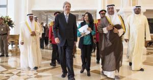 Isis: Gentiloni in Kuwait, sconfiggere mito sanguinario