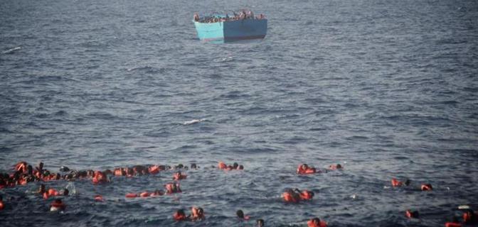 Naufraga barcone al largo della Libia, almeno 34 morti