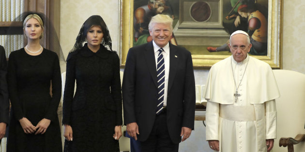 Trump in visita ufficiale da Papa Francesco