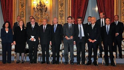 Al via il governo Monti