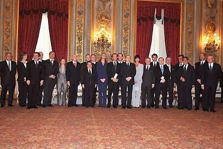 Nasce il governo Berlusconi quarto